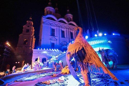 В Астраханском кремле состоялась премьера оперы под открытым небом
