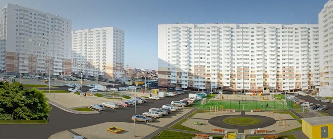 Объекты строительства солнечный город микрорайон в г краснодар визуализация