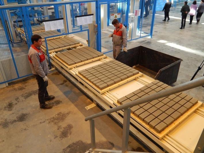 ГК «Агроком» инвестирует в модернизацию ростовского завода тротуарной плитки