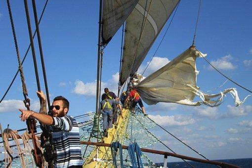 В Новороссийске закончился этап Черноморской регаты для больших парусников