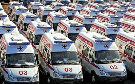 В Волгоградской области продолжается обновление парка автомобилей скорой помощи и переход на