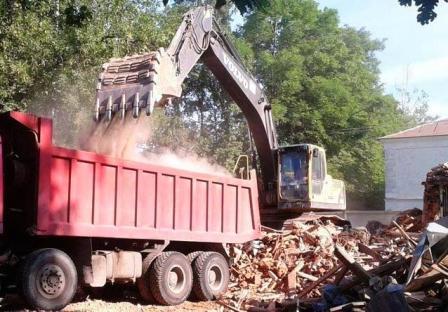 Вывоз мусора со строительных площадок