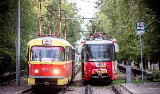 Износ трамваев в Волгограде составляет 97%