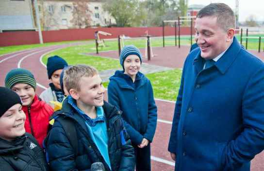 В Волгограде открыли после реконструкции 60-летний стадион