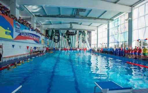 В Анапе открыли после реконструкции спорткомплекс с бассейном