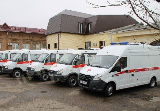 5 автомобилей  получила служба скорой помощи Ейска
