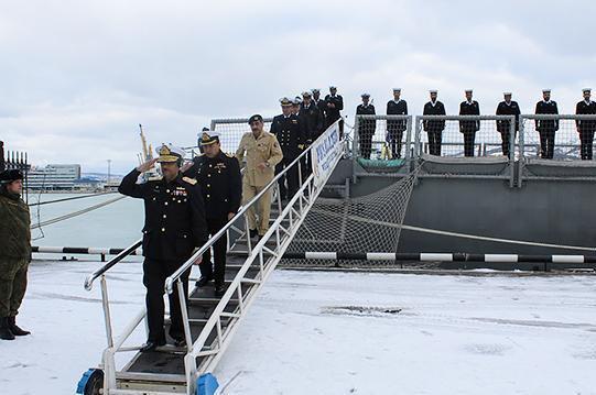 Новороссийск посетили пакистанские моряки
