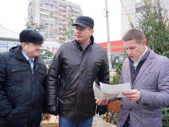 Депутаты Астраханской думы провели рейд по местам торговли елками