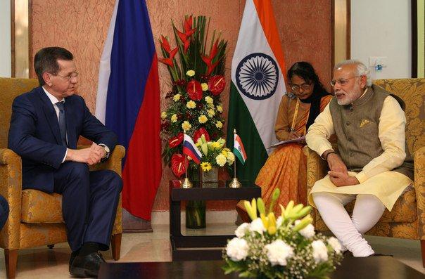 Премьер-министр Индии может нанести визит в Астраханскую область