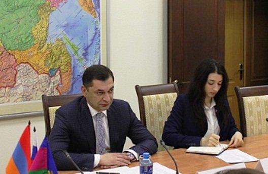 Кубань и Армения подготовили проект протокола о сотрудничистве