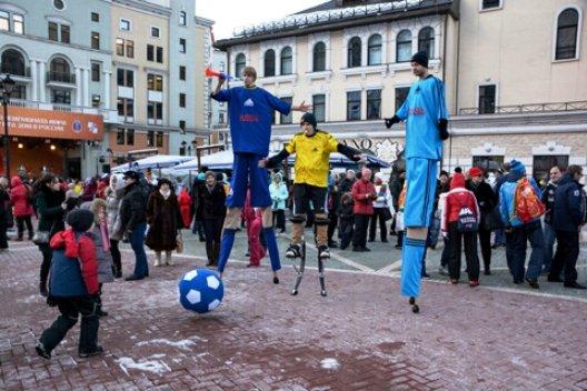 В Сочи отметили 500 дням до начала Чемпионата мира по футболу