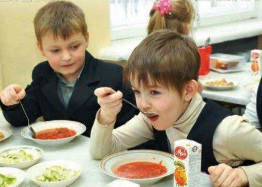 Только 91,4% учащихся школ Новочеркасска получают горячее питание