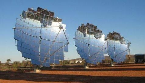 В Астраханской области строят солнечнуй электростанцию на 15 МВт