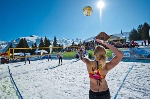В Сочи состоится историческое событие  - чемпионат России по волейболу на снегу
