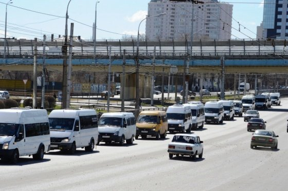 200 маршруток проехали по Волгограду в надежде отстоять свой бизнес
