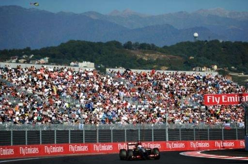 ВСочи впроцессе «Формулы-1» изменят маршруты «ласточек»
