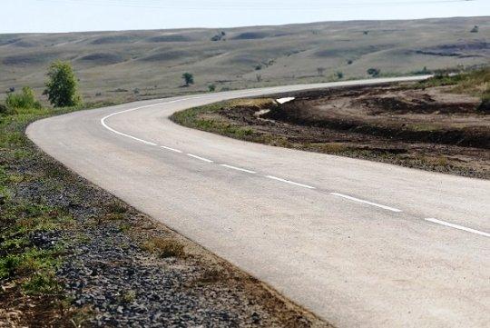За 114 млн руб. построили дорогу, соединившую хутор Красноградский Волгоградской области с трассой