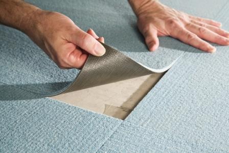 Ковровая плитка и ее особенности