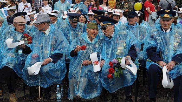 Волгоград отметил День Победы