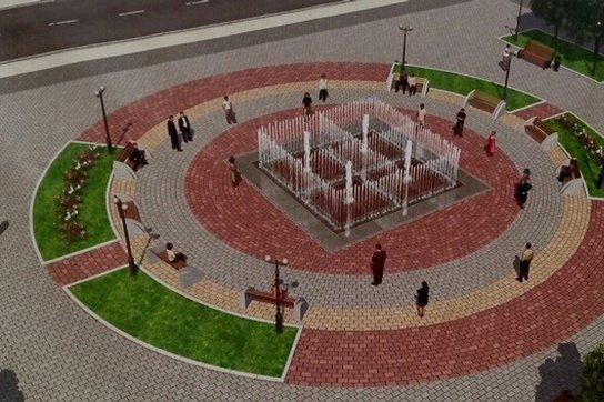 Открытие уникального фонтана