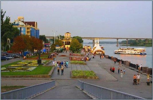 Новая рекреационная зона появится на левом берегу Дона в Ростове