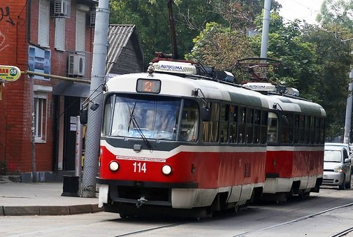 Трамвай - единственный в Краснодаре вид общественного транспорта, работающий с прибылью