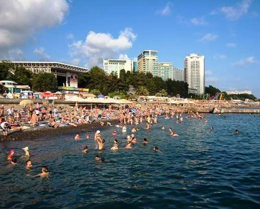 На 16 млн отдыхающих рассчитывают в Краснодарском крае