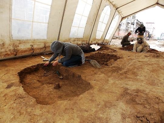 16 погребений меотов нашли при раскопках в центре Ростова