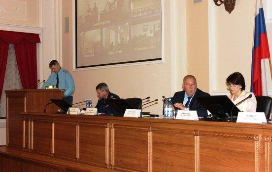 В Волгограде состоялось заседание комиссии по предупреждению ЧС