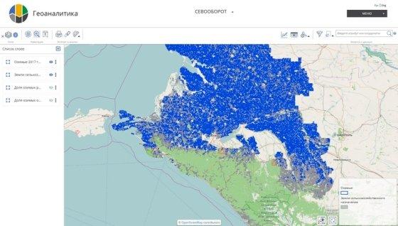 Электронная карта посевов стала доступна на Кубани