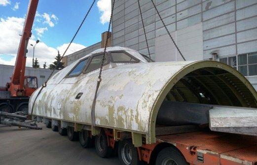 В Сочи едет макет космического корабля