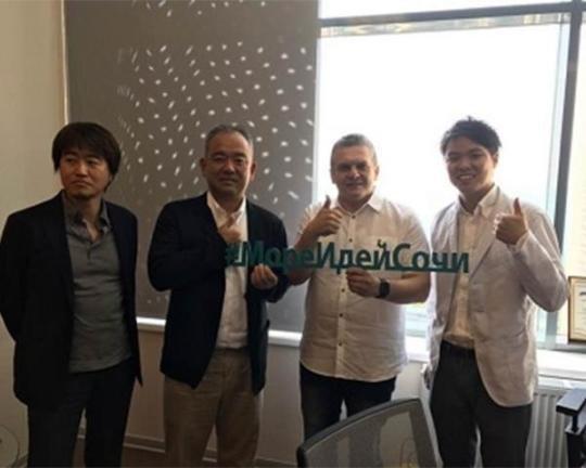 Проекты стартапов презентовали в Сочи японским инвесторам