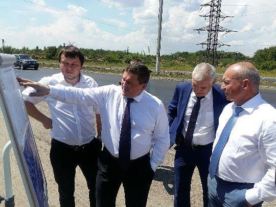 Строительство комплекса водоочистных сооружений в Волгограде проинспектировал А. Бочаров