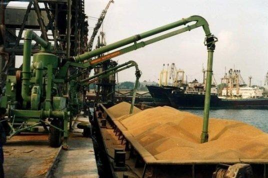 8,15 млн тонн зерна за полгода отгрузили в кубанских портах
