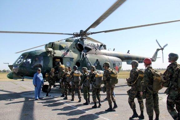 Адыгея в составе 8 регионов РФ приняла участие в подготовке стрелков-десантников для ВДВ