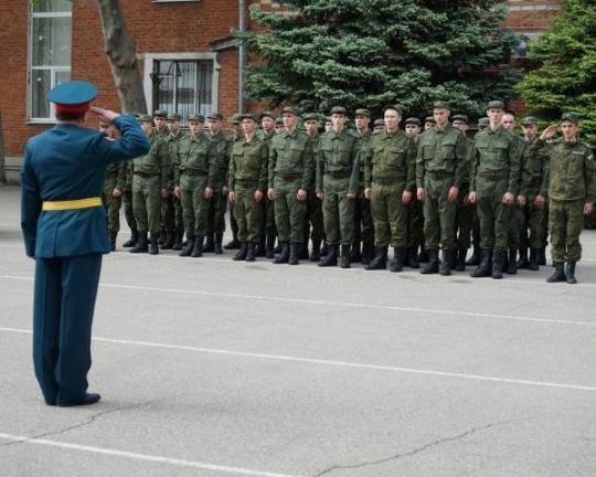 5,5 тыс. кубанцев отправились на службу в ряда вооруженных сил