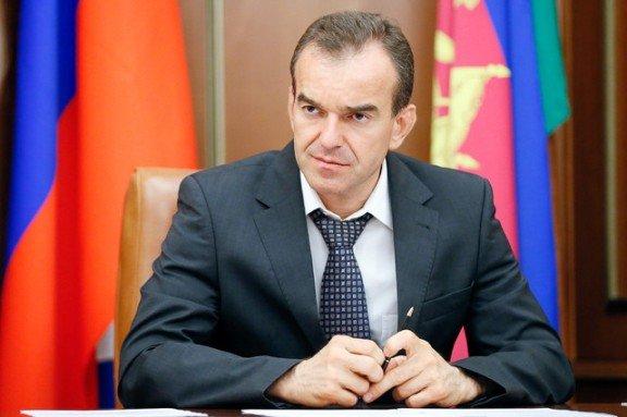 Губернатор Краснодарского края провел степень исполнения его поручений