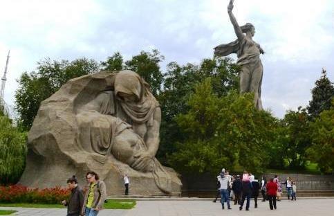 В Волгограде пытаются противостоять вырубке деревьев в парке вдов