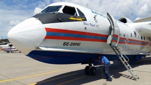 На боевое дежурство в Геленджике заступил самолет-амфибия