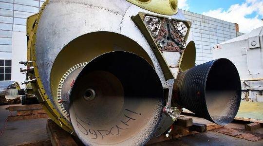 В Сочи привезли макет орбитального корабля