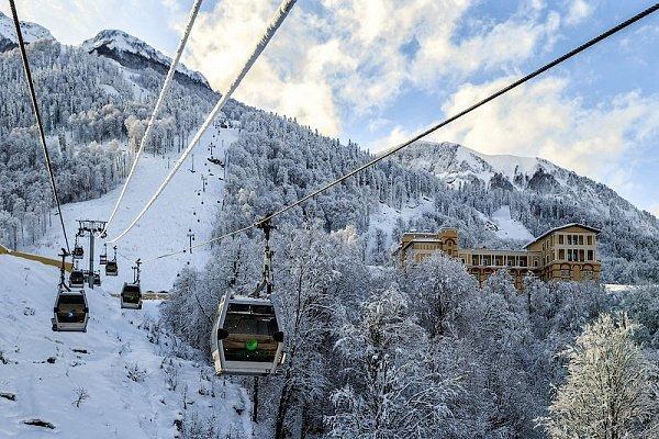 В декабре в Красной Поляне введут единый ски-пасс