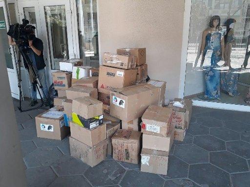 Татарстан прислал гуманитарную помощь ростовским школьникам