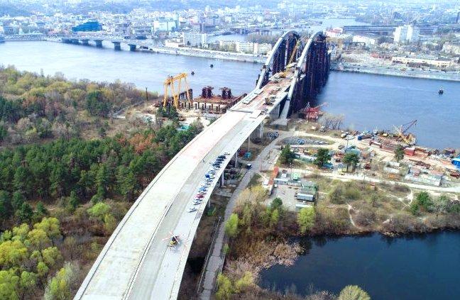 Строительство нового важного объекта в столице Украины