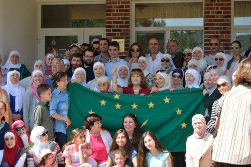 Делегация адыгов из Иордании приехала в Адыгею