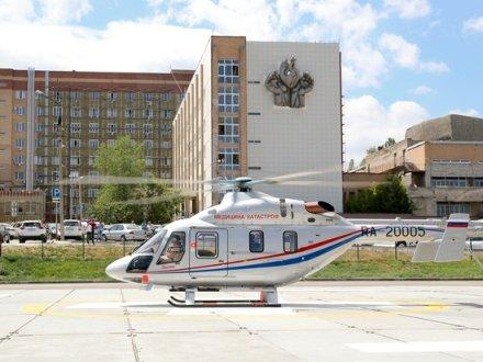 100 вылетов совершил вертолет санавиации по Волгоградской области
