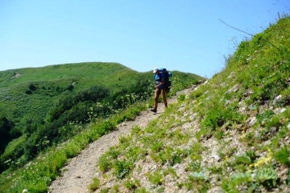 Горы Адыгеи стали одними из самых популярных у туристов