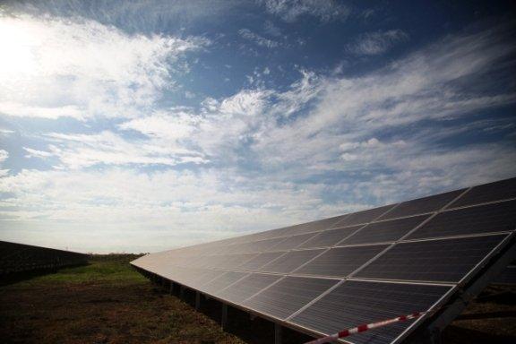 В Астраханской области ввели в эксплуатацию солнечную электростанцию