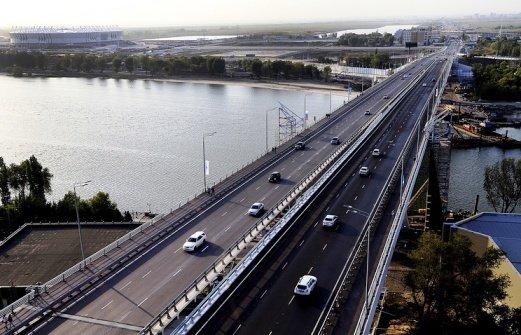 Ворошиловский мост в Ростове снова стал рабочим