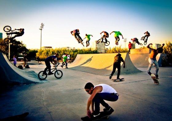 В Краснодаре откроется скейт-парк