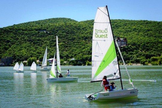 Первая парусная регата состоится на озере Абрау